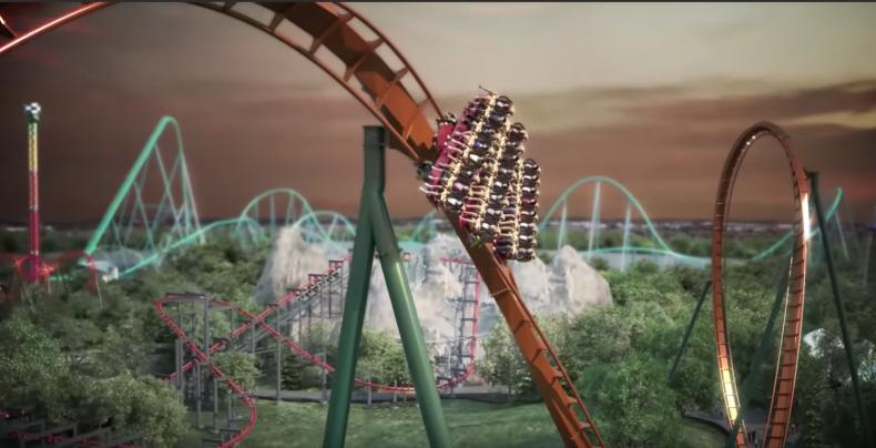 the yukon striker canada's wonderland roller coaster