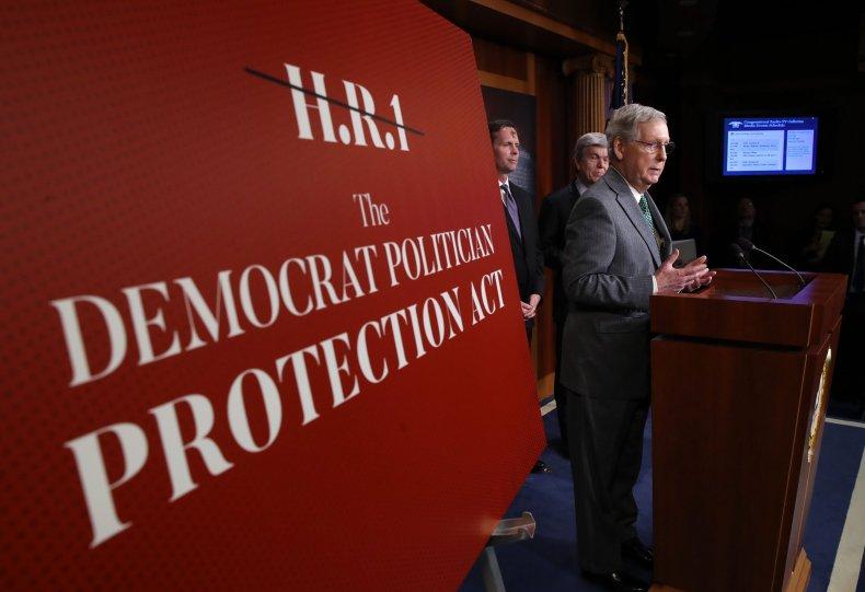 H.R. 1, Democrats, Senate, Republicans, Mitch McConnell