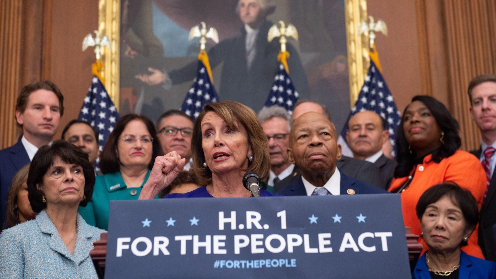 What Is H.R. 1 Bill? House Vote Passes Sweeping Voting Rights, Anti-Corruption Bill, but Senate Republicans Await