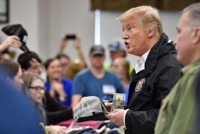 Trump Signs Bibles