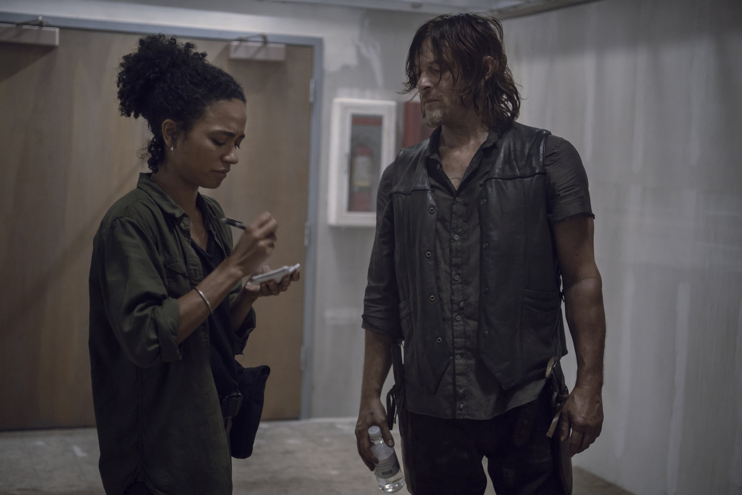 Walking Dead Daryl and Connie 9x13