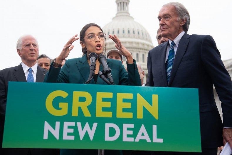 Alexandria Ocasio-Cortez, Green New Deal