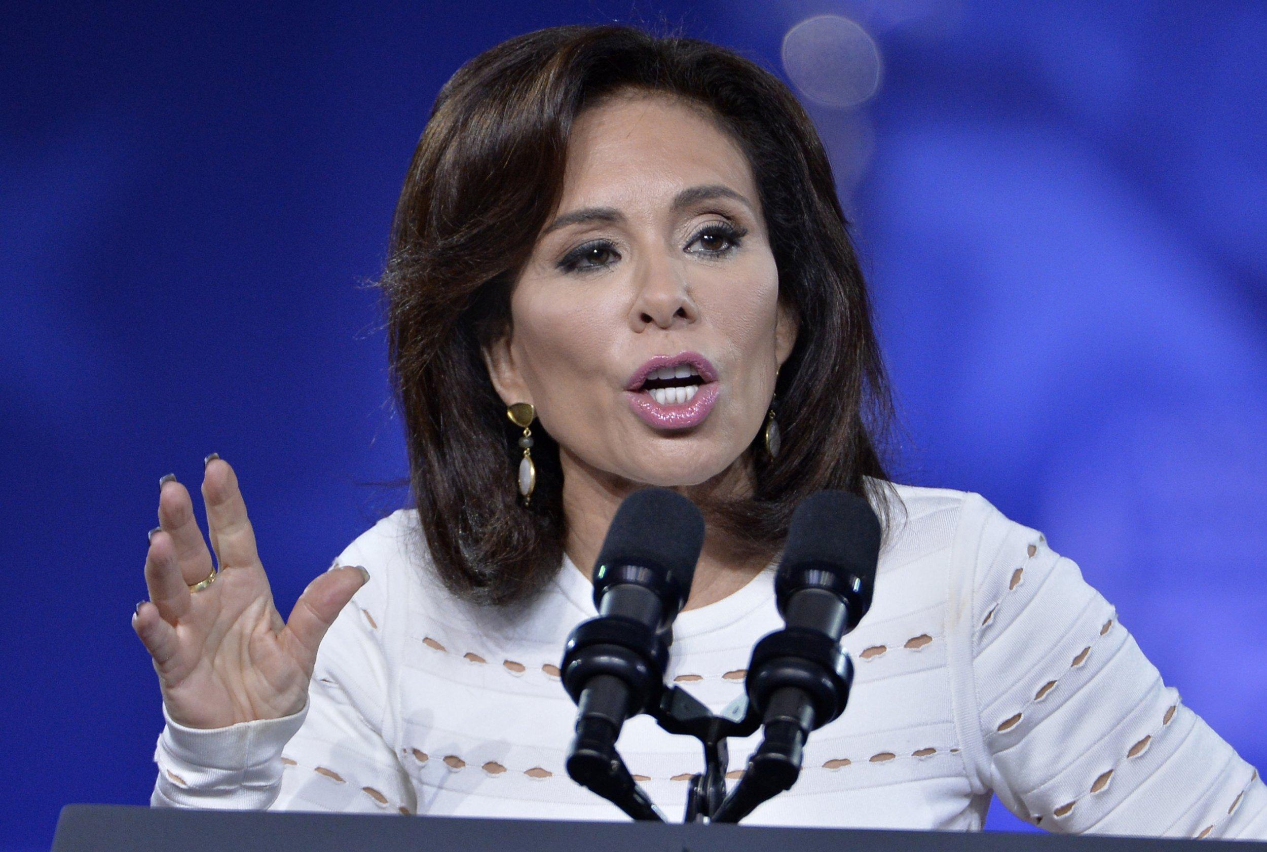 Fox News Host, Jeanine Pirro, Ilhan Omar, hijab, Sharia law