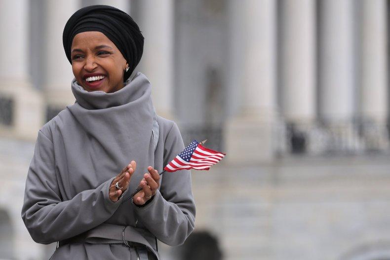 Ilhan Omar, Fox News Host Jeanine Pirro, hijab, Sharia