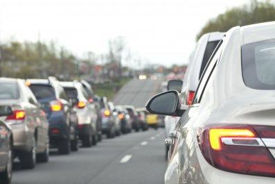 car traffic jam stock getty