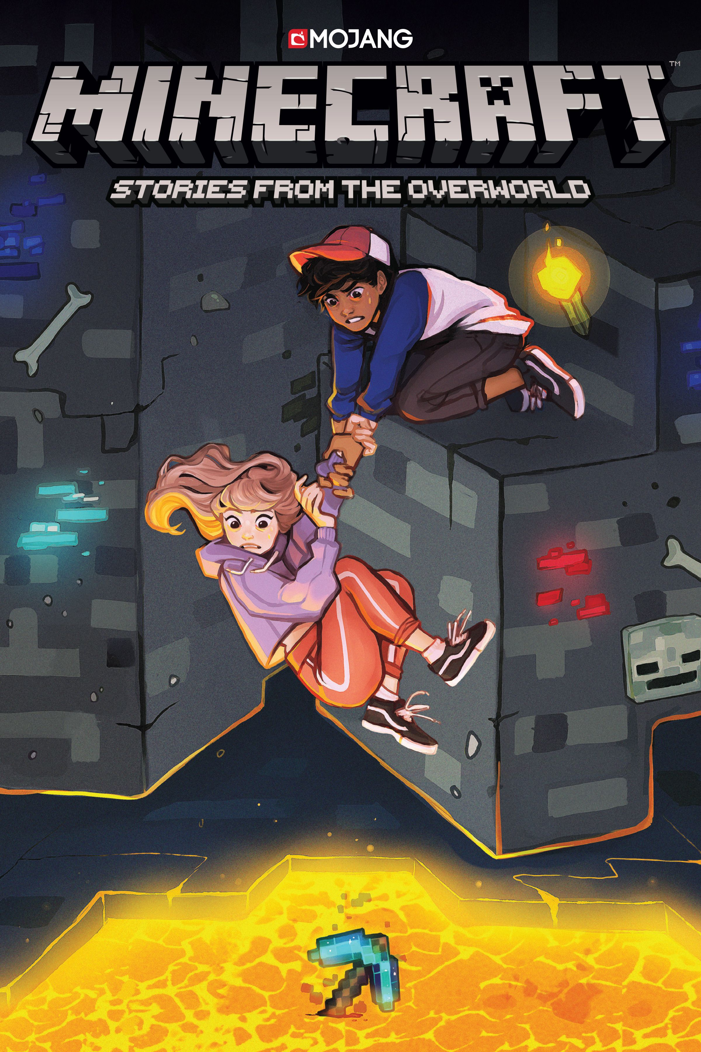 minecraft stories from the overworld cover reveal