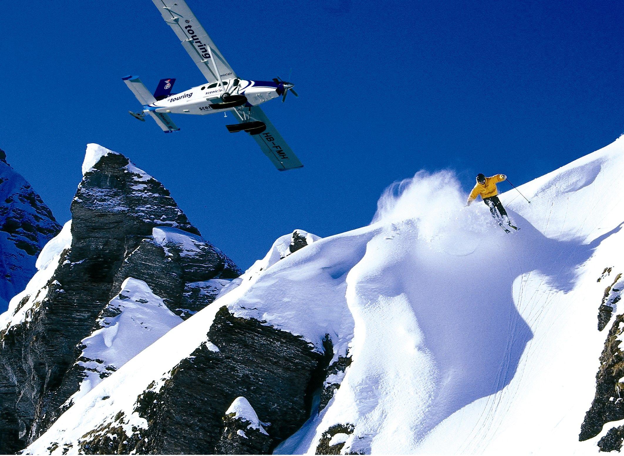 Switzerland - heliskiing