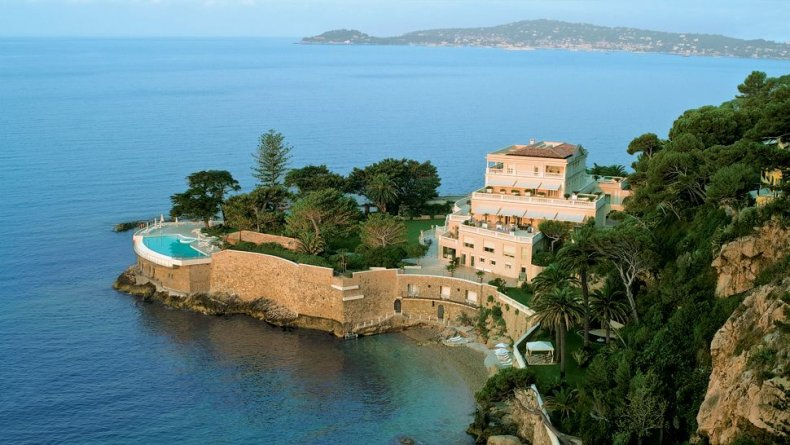 France - View of the Hotel cap Estel in Eze(1)