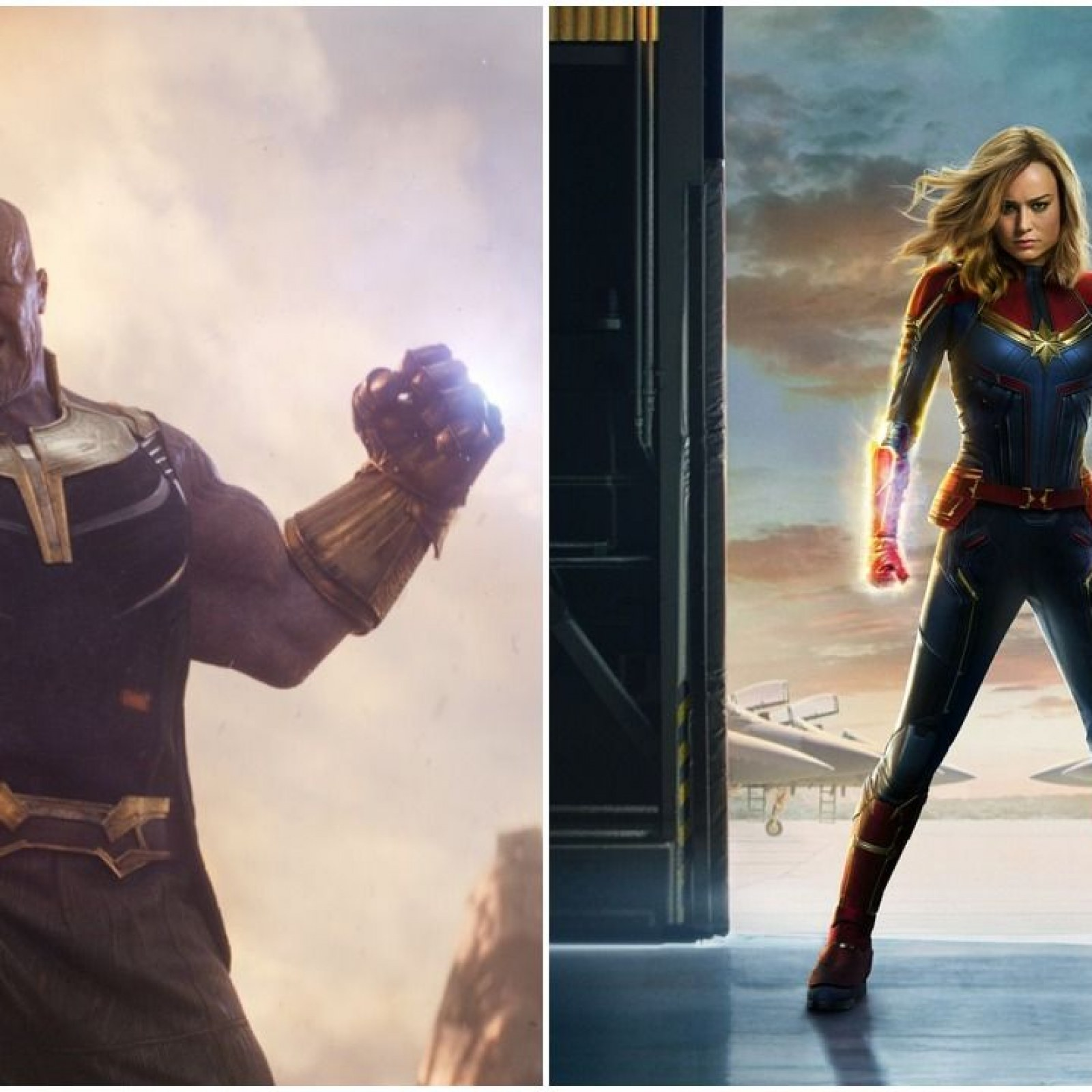 Who Is the Strongest Marvel Character? Thanos Vs Captain Marvel