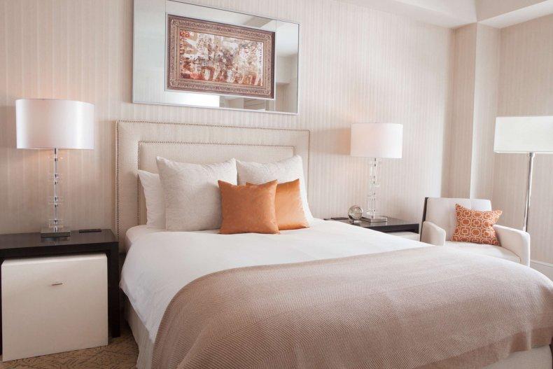 Benjamin Hotel sleep pillow