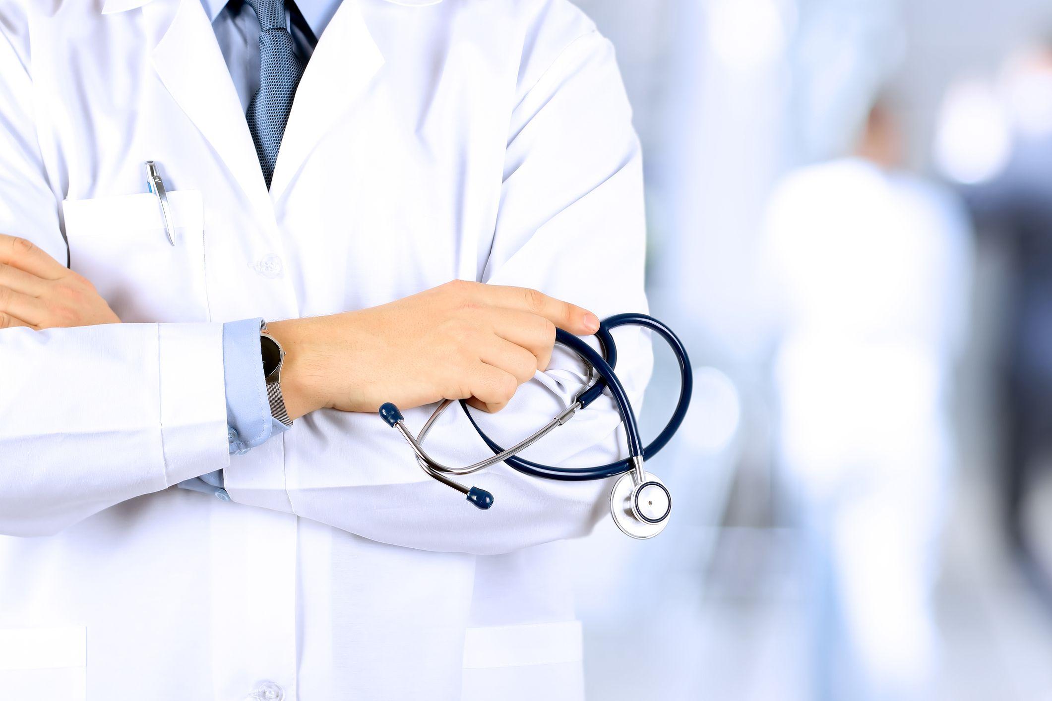doctor stethoscope stock getty