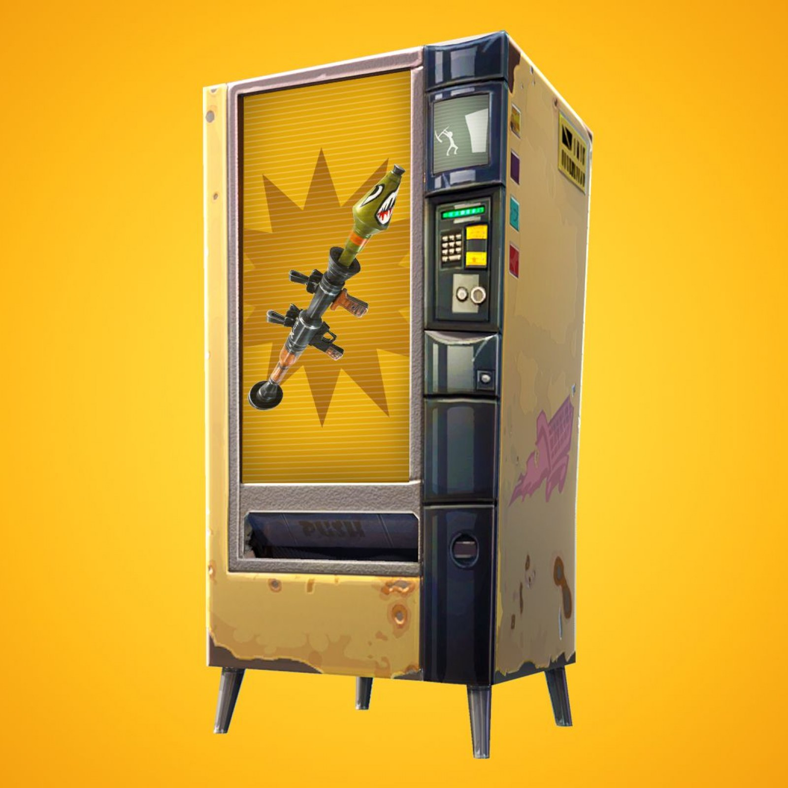 Fortnite' Update 8 10 Adds Baller & Vending Machines - Patch