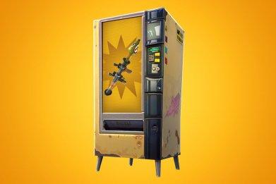 Fortnite vending machine rework
