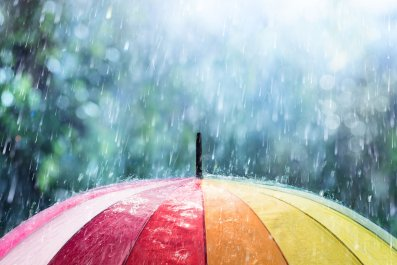umbrella weather AMS