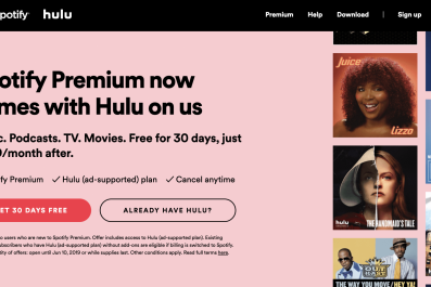 Hulu, Spotify, bundle, how, to, sign, up, for, Hulu, premium, family, plan