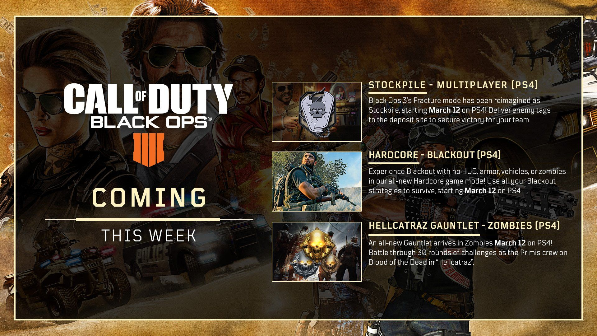 Call of Duty: Black Ops 4' Update 1 14 Adds Shamrock & Awe