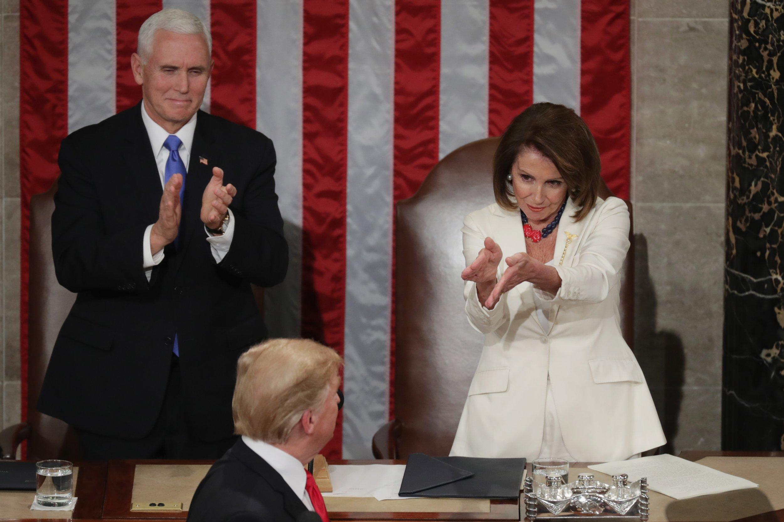 Nancy Pelosi, Donald Trump, impeachment, Democrats