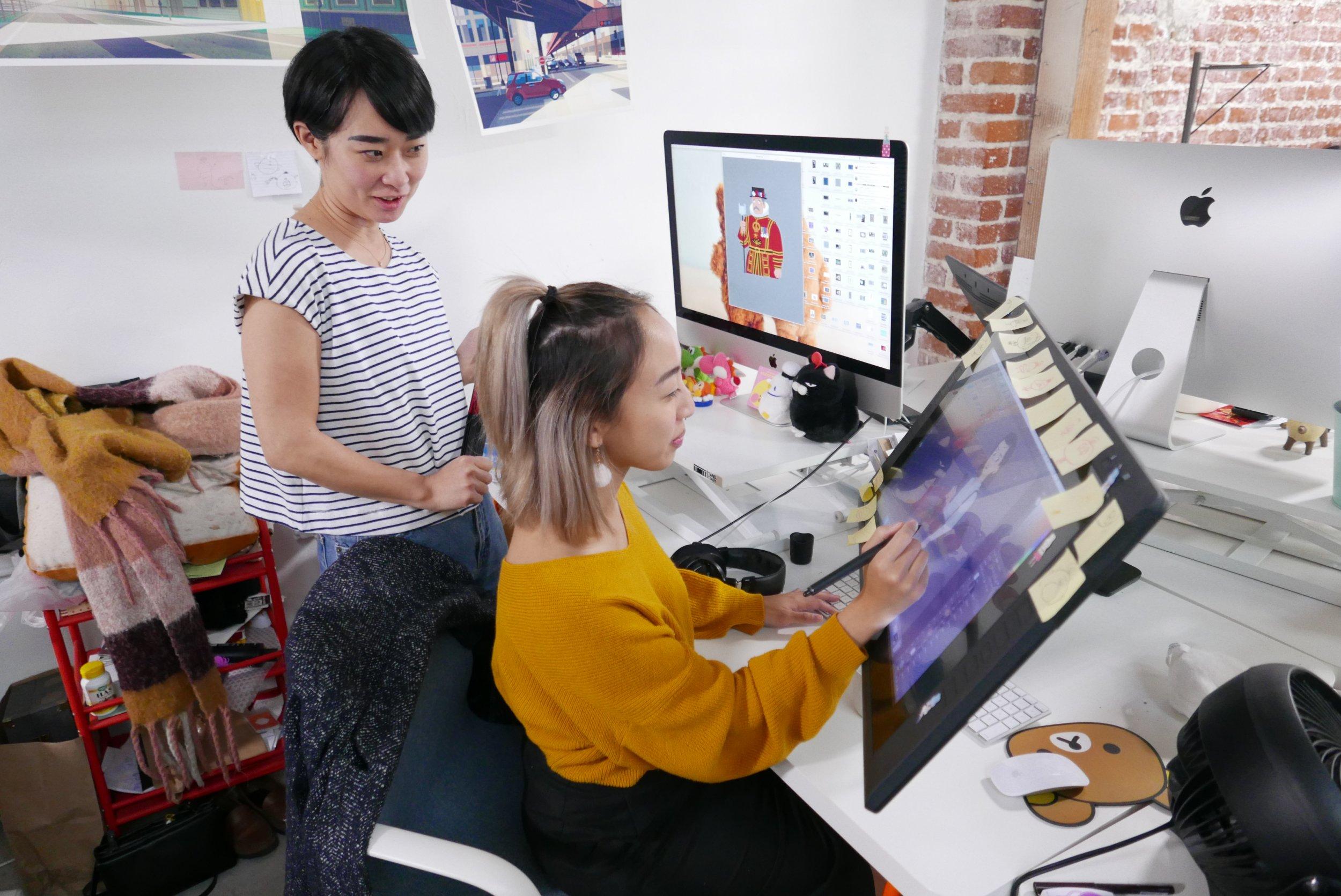 google earth carmen sandiego behind the scenes chromosphere design team