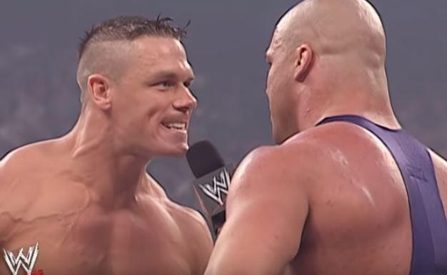 john cena vs kurt angle debut wrestlemania 35