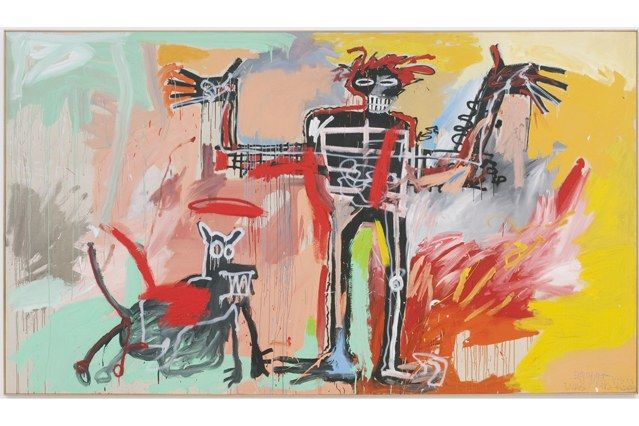 Jean-Michel Basquiat Exhibit Cover