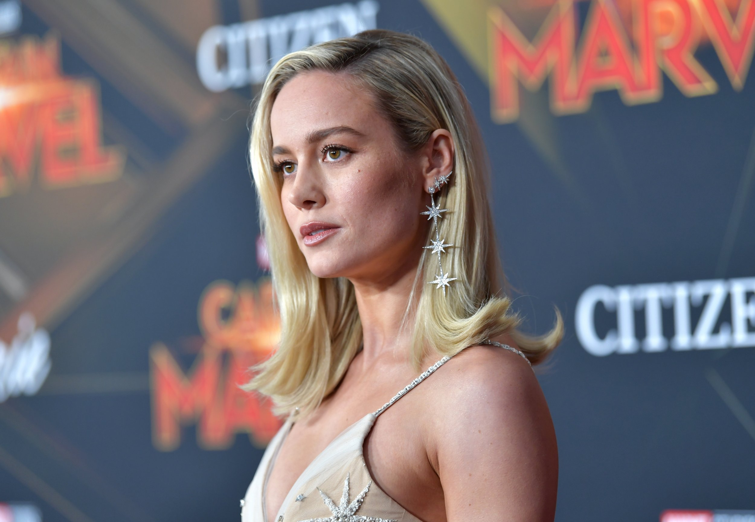 Captain Marvel fights off online trolls with $455m opening weekend