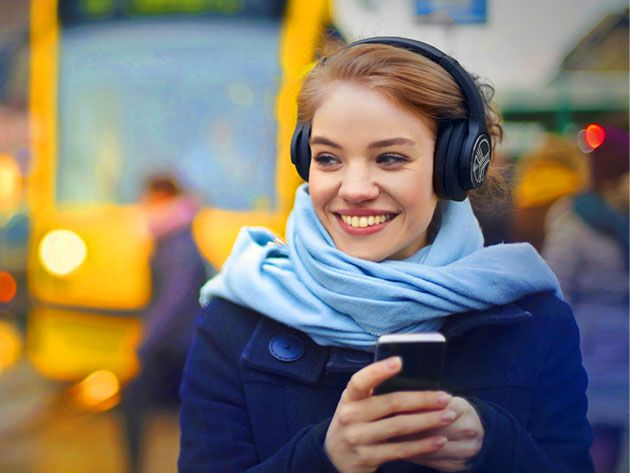 Low Stress Vavcations - TREBLAB Z2 Wireless Noise-Cancelling Headphones