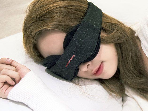 Low Stress Vacations - Manta Sleep Mask & Blackout Stickers