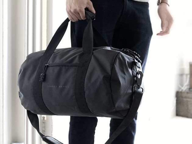 Low Stress Vacations - Bomber Barrel Duffel Bag Complete Set