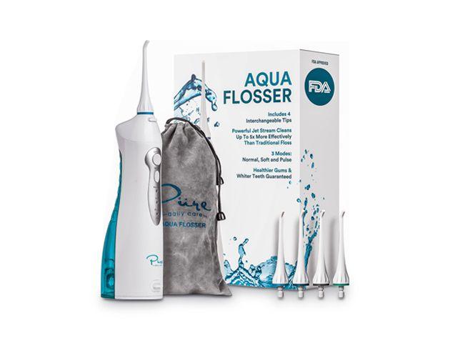 Detnal Care Tools - Aqua Flosser Rechargeable Water Flosser