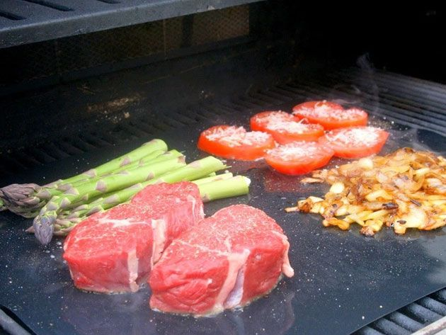 Kitchen Deals - BBQ Grill & Oven Sheet- 2-Pack