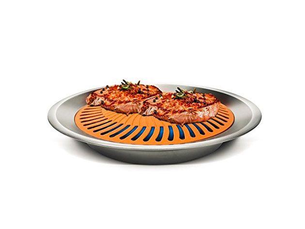 Kitchen Deals - Gotham Steel Non-Stick Smokeless Stove Top Grill