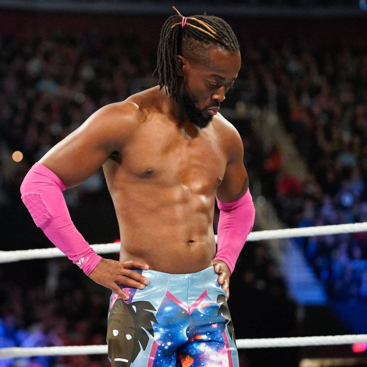 kofi kingston wwe smackdown live results championship match