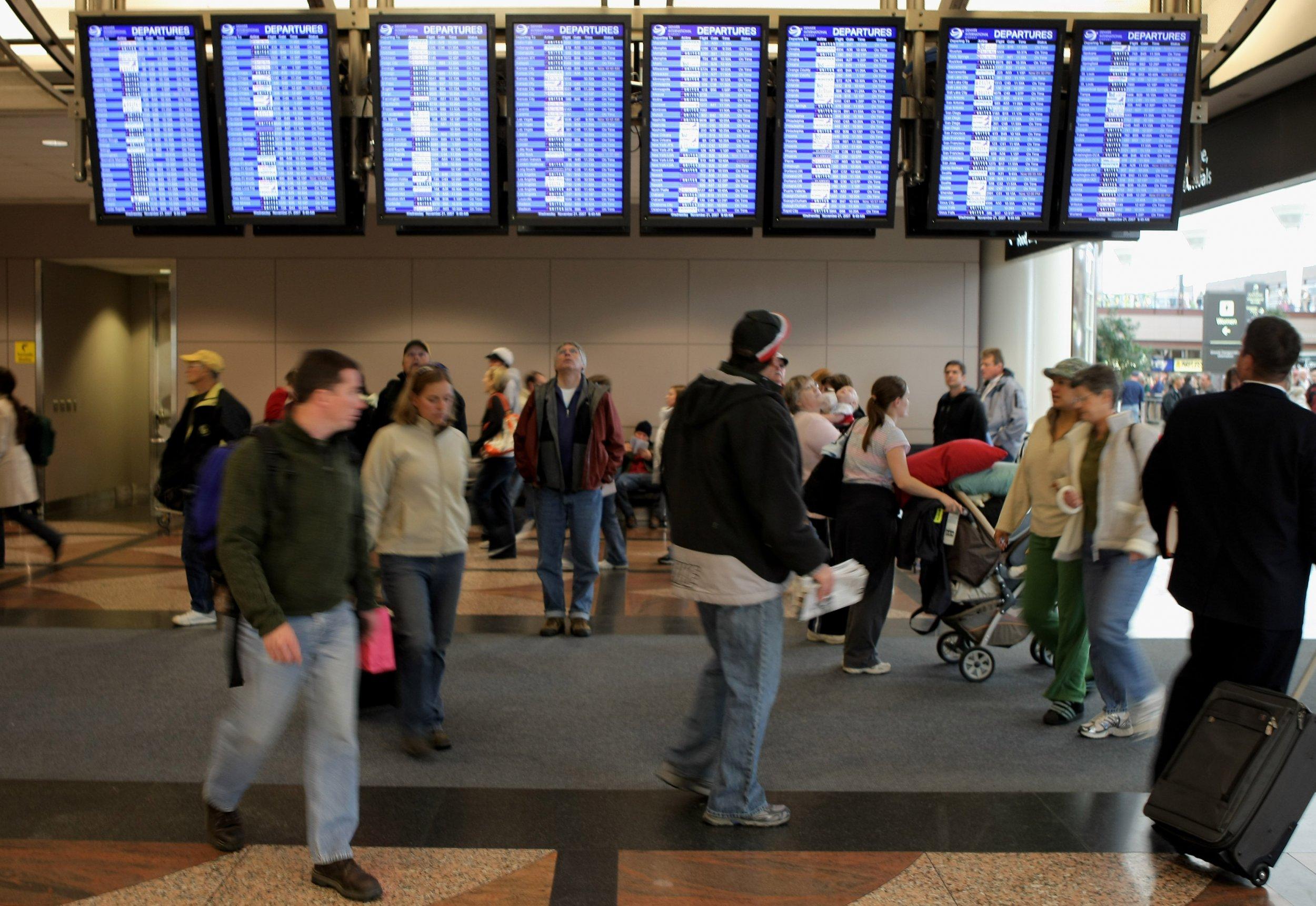 denver international airport flight cancellations southwest travel waivers