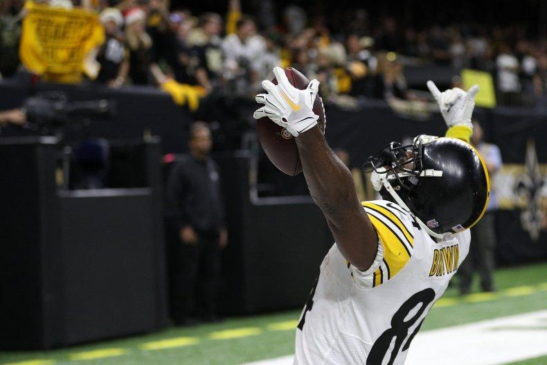 Antonio Brown, Pittsburgh Steelers