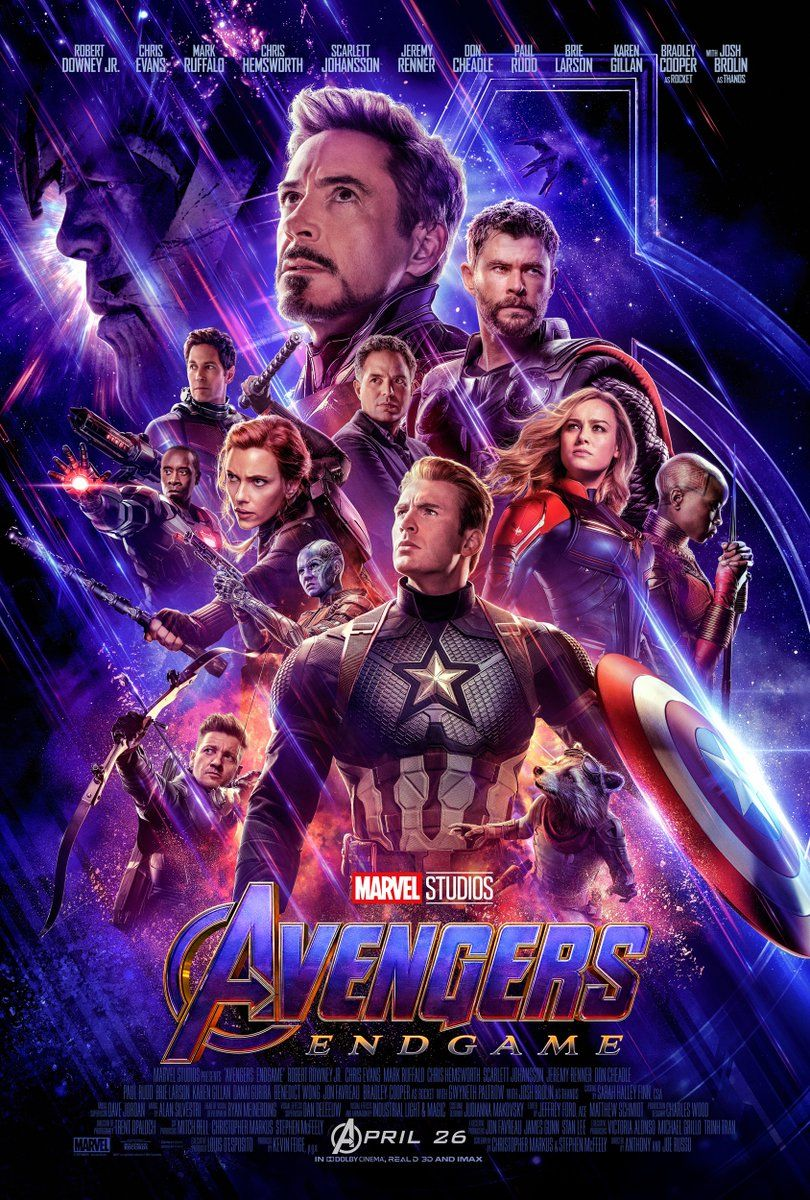 avengers endgame trailer poster 2 captain marvel