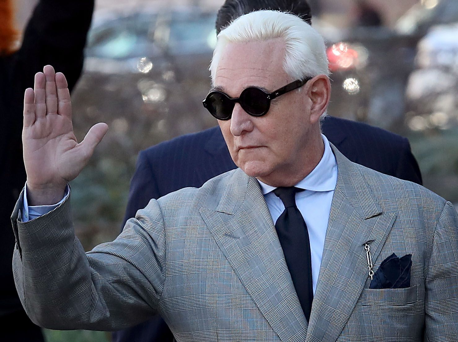 Roger Stone, lawyers, scolded, book deal, gag order