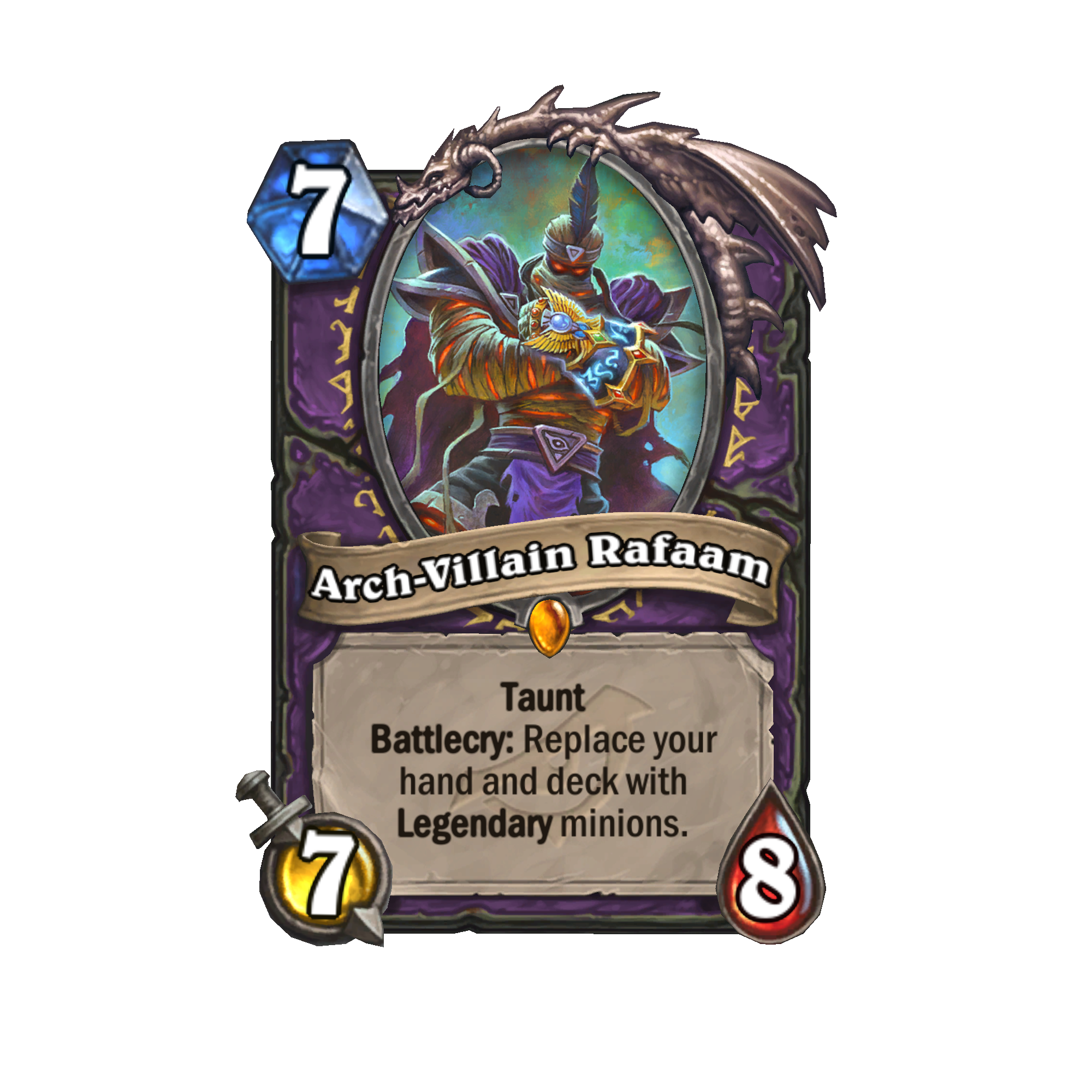 hearthstone, expansion, rise, of, shadows, new, cards, release, date arch villian rafaam