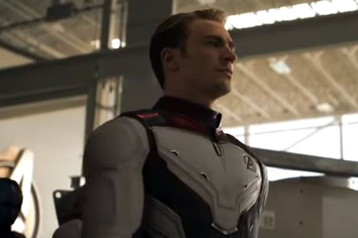 captain america suit avengers endgame trailer 2