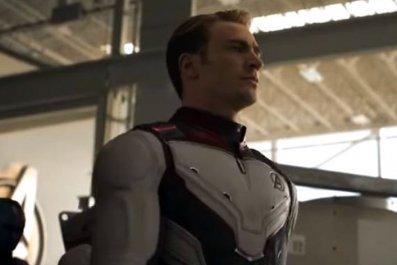 captain america suit avengers endgame trailer 2
