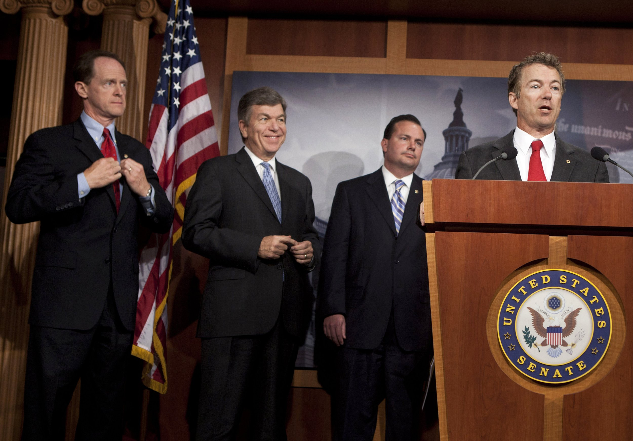 Senate, Republicans, Rebuke, Trump, national, emergency