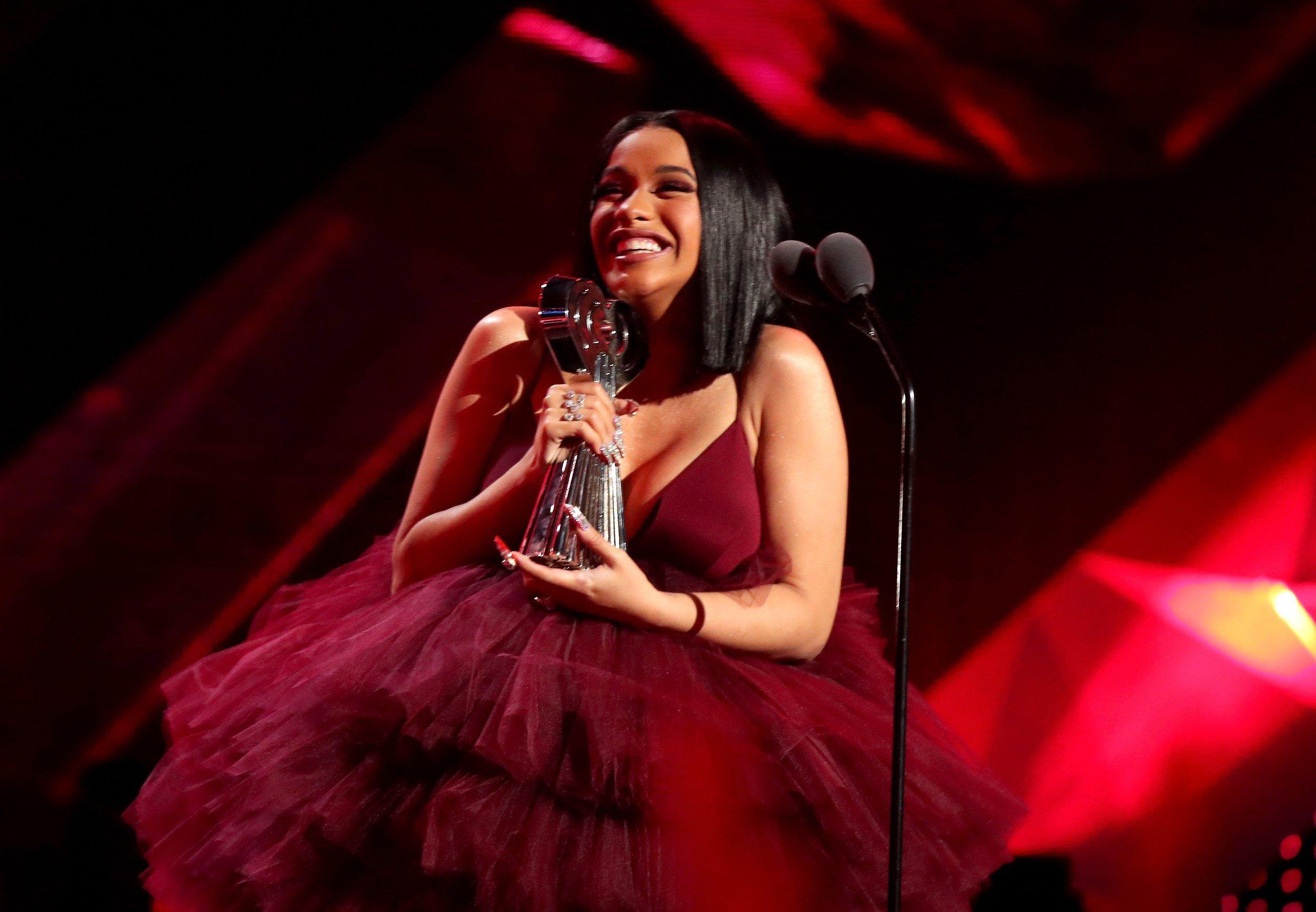 Cardi B at 2019 iHeartRadio Awards