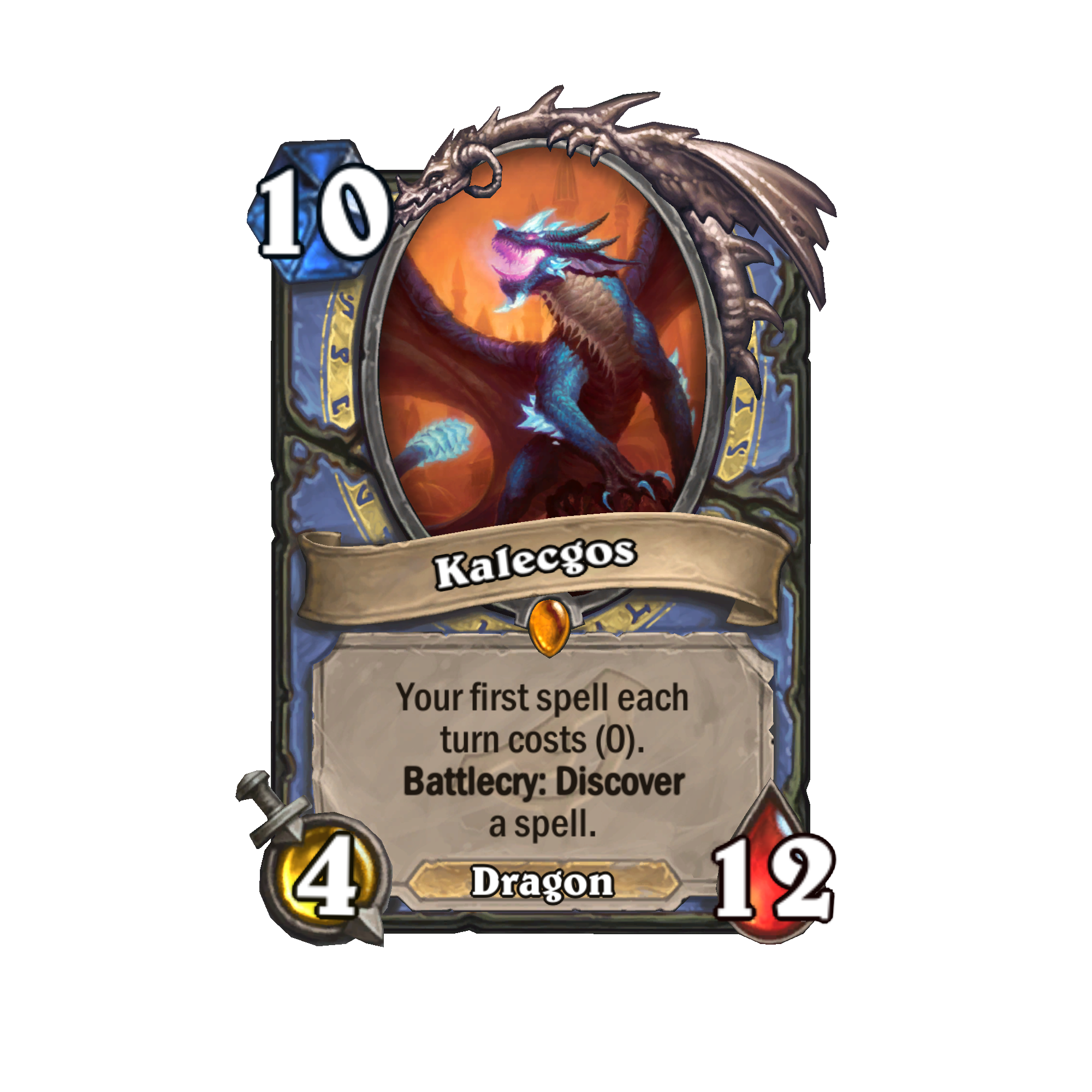 kalecgos hearthstone rise of the shadows expansion