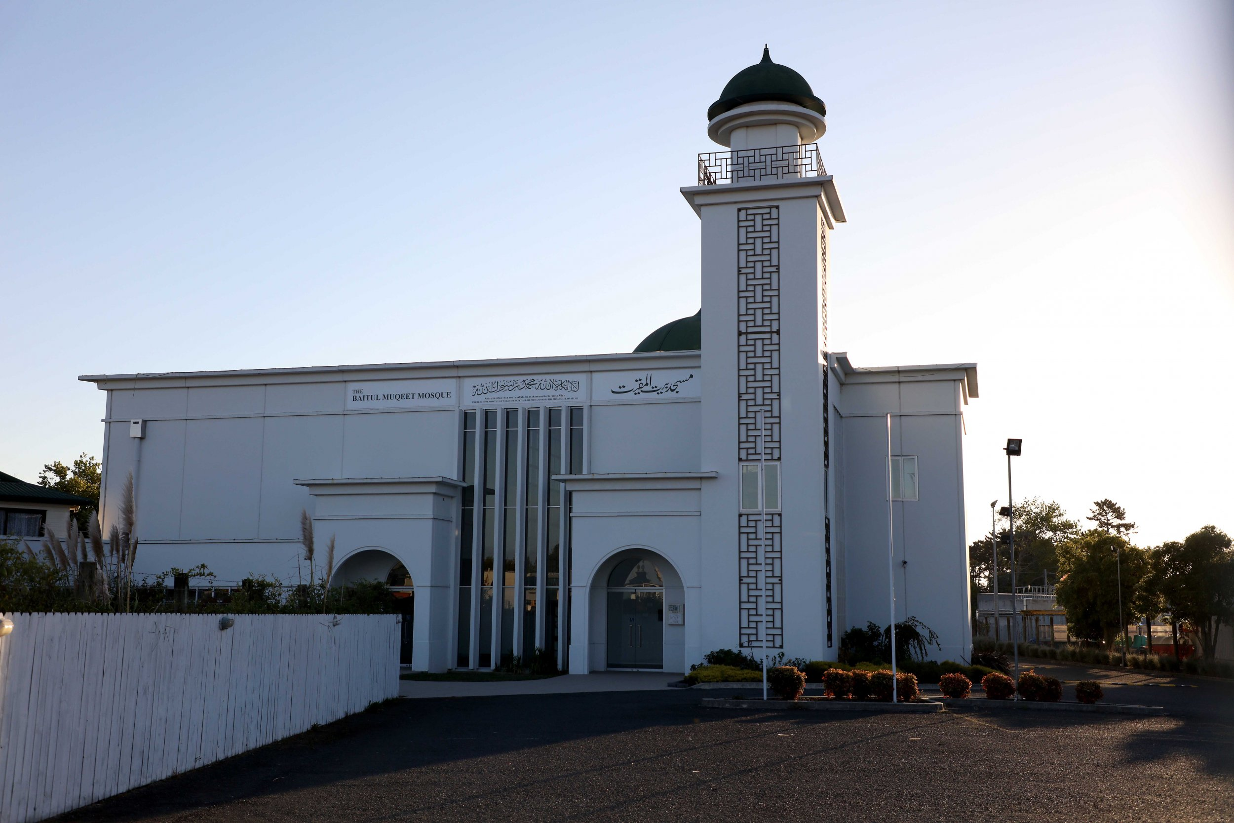 mosque shooting new zealand aukland getty