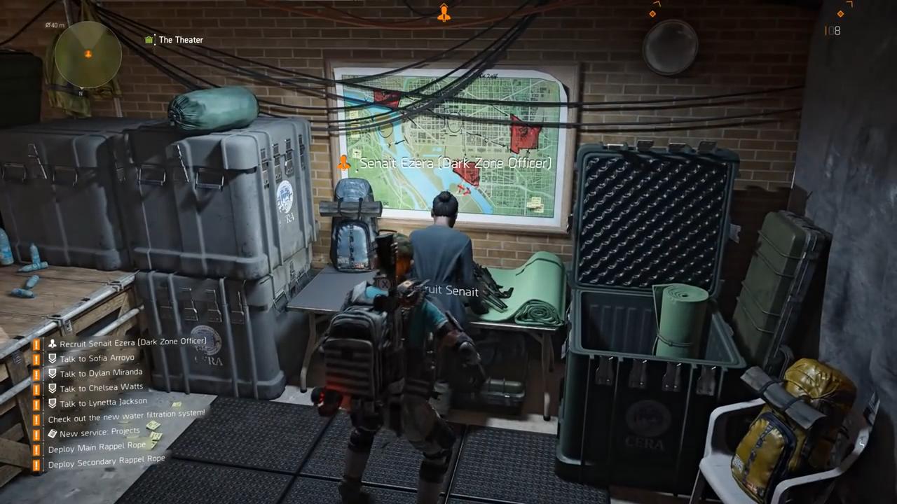 Division 2 dark zone recruit gameplay
