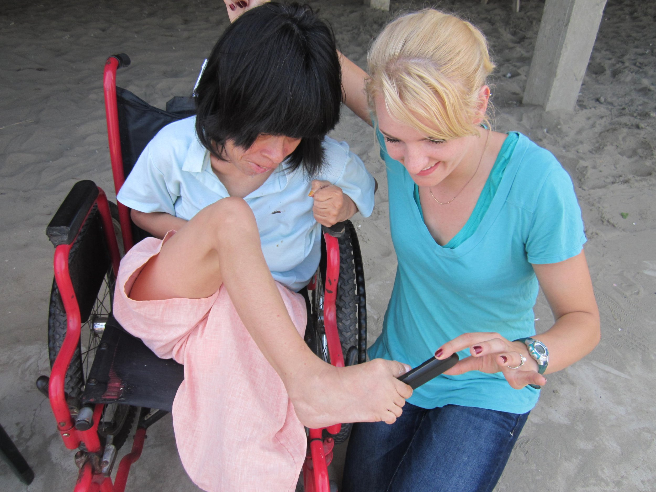 Mary at the Rotary Youth Exchange Program in Ecuador