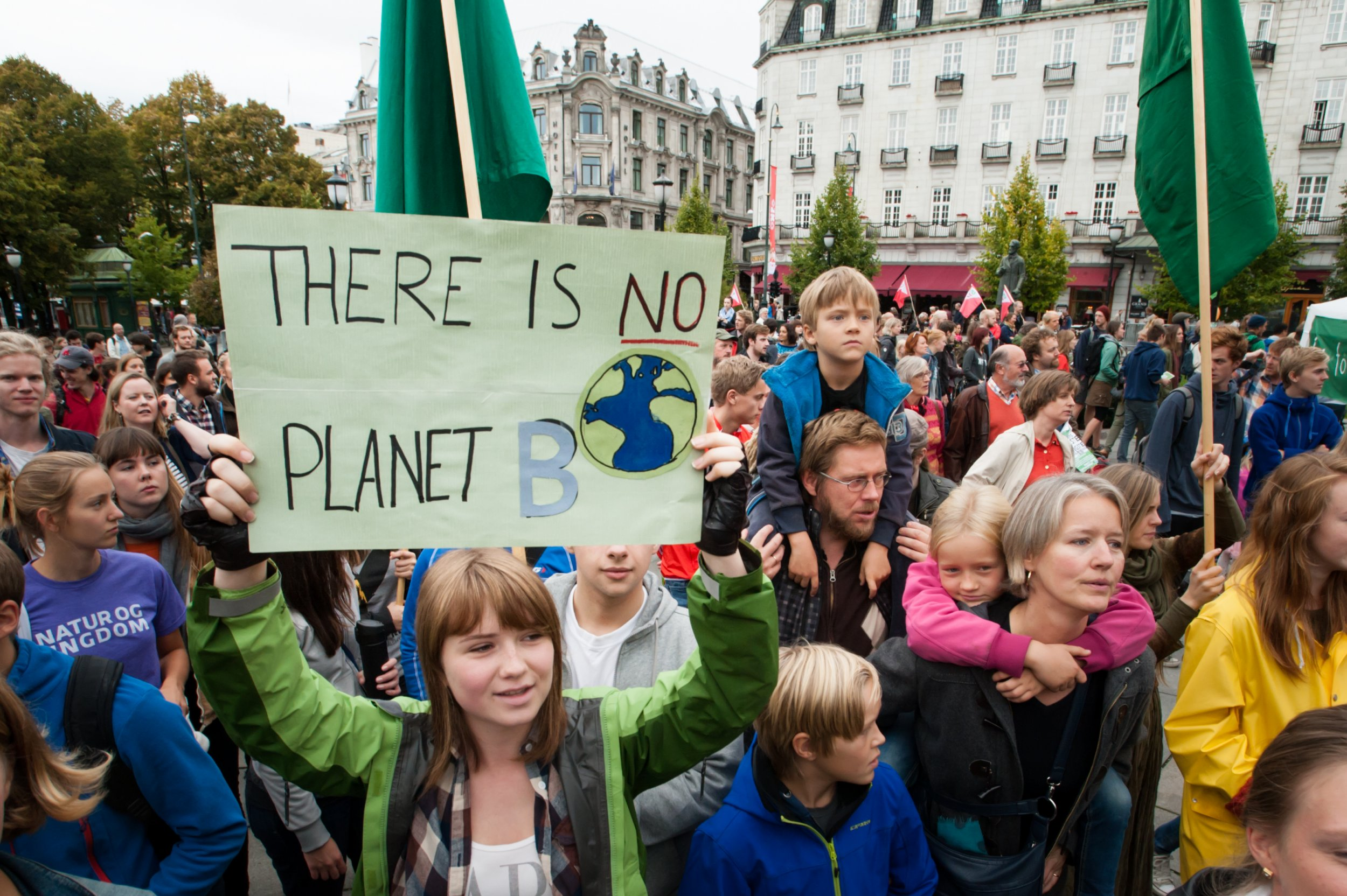 climate change global warming protest