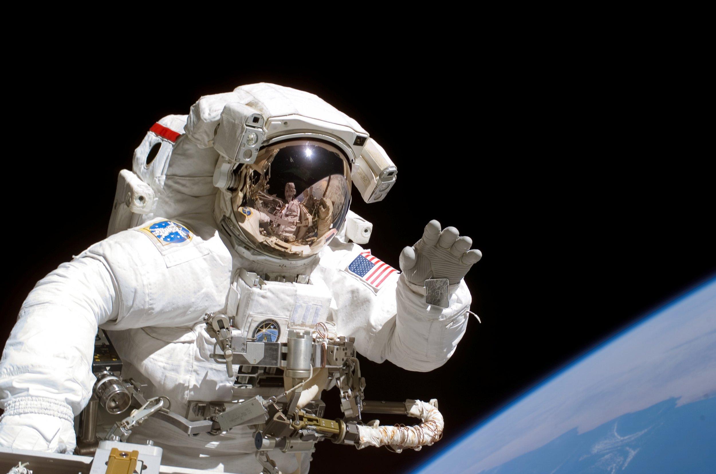 astronaut Joseph Tanner International Space Station, September