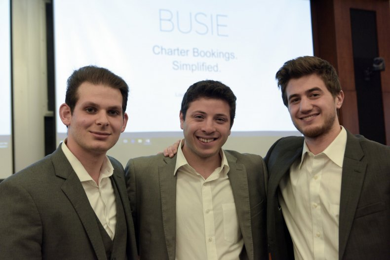 Busie Founders from left: Louis Bookoff (CEO), Brady Perry, Joshua Bain