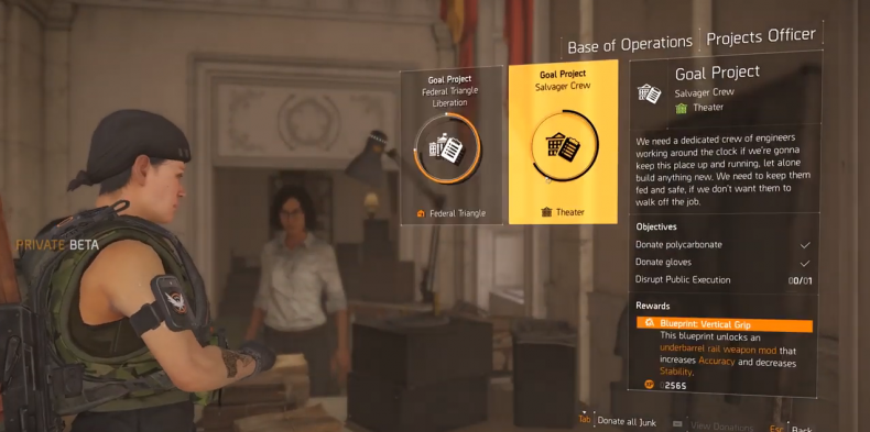 Division 2 mod projects