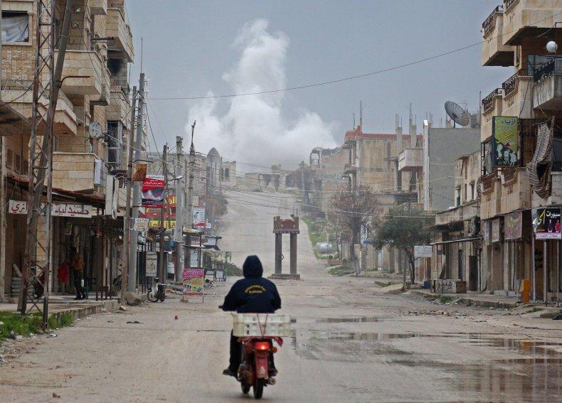 syria war, idlib happening
